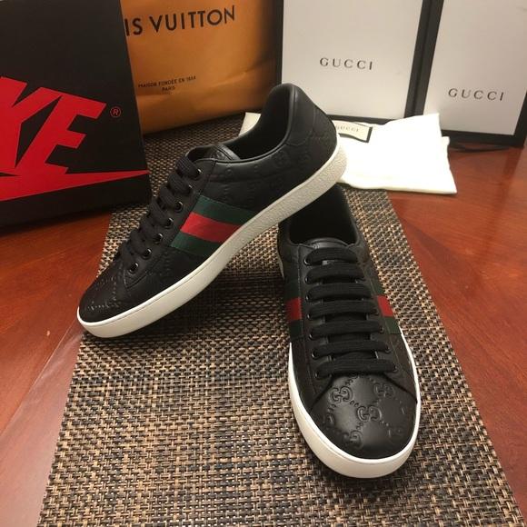 Gucci Shoes | Mens Ace Signature